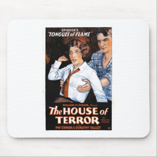The House of Terror #2 - Tongues of Flame Mouse Pad