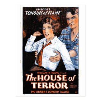 The House of Terror #2 - Tongues of Flame Postcard