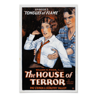 The House of Terror #2 - Tongues of Flame Print
