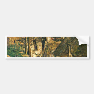The House Of The Hanged Man At Auvers Car Bumper Sticker