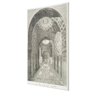 The House of the Jew at Isfahan, from 'Voyages du Canvas Print