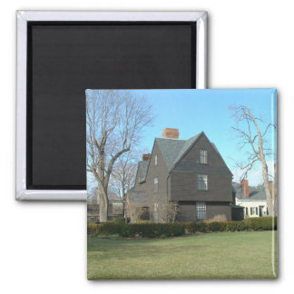 The House of the Seven Gables 2 Inch Square Magnet