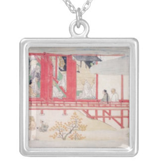The House of the Shogun Silver Plated Necklace