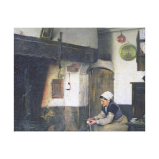 The House of Therese, 1881 Canvas Print