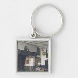 The House of Therese, 1881 Keychain