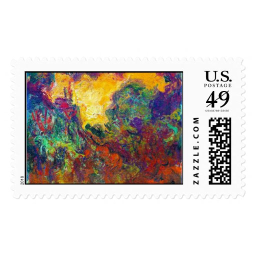The House Seen from the Rose Garden Claude Monet Postage
