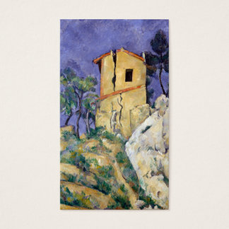 The House with the Cracked Walls - Paul Cézanne Business Card