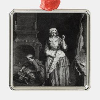 The Housekeeper Metal Ornament