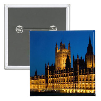 The Houses of Parliament at night in the city of Button