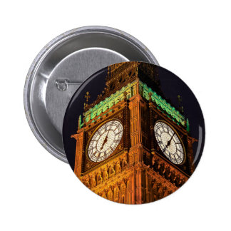 The Houses of Parliament clock tower Westminster Badge