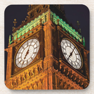 The Houses of Parliament clock tower Westminster Coasters