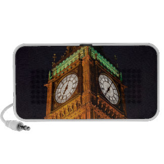The Houses of Parliament clock tower, Westminster PC Speakers
