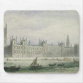 The Houses of Parliament (graphite, pen & ink & w/ Mouse Pad