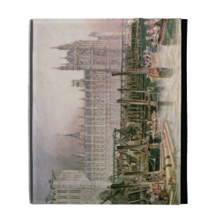 The Houses of Parliament in Course of Erection iPad Case