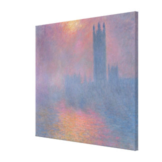 The Houses of Parliament, London Canvas Print