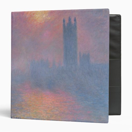 The Houses of Parliament, London Vinyl Binder
