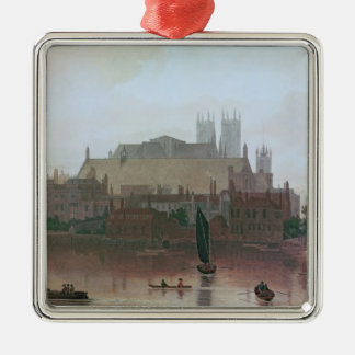The Houses of Parliament Metal Ornament