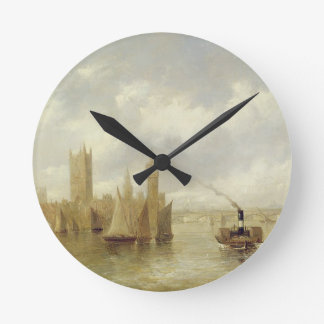 The Houses of Parliament Round Clock
