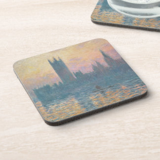 The Houses of Parliament, Sunset, 1903 Coasters