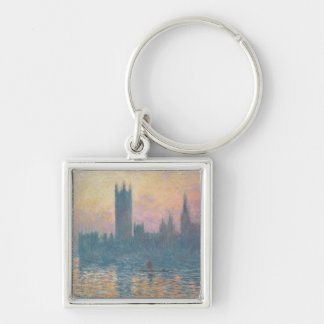 The Houses of Parliament, Sunset, 1903 Key Chains
