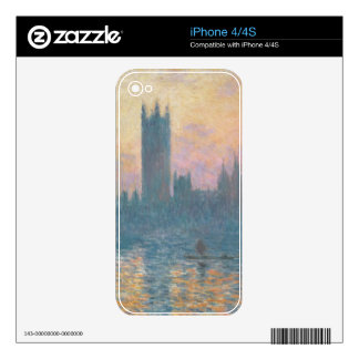 The Houses of Parliament, Sunset, 1903 Skin For The iPhone 4S