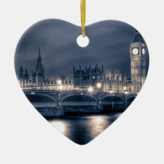 The Houses of Parliament,  Westminster London Ceramic Ornament