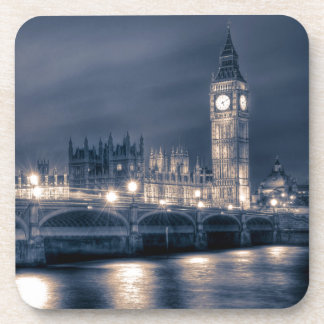 The Houses of Parliament Westminster London Drink Coaster