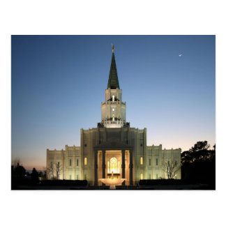 The Houston Texas LDS Temple Postcard