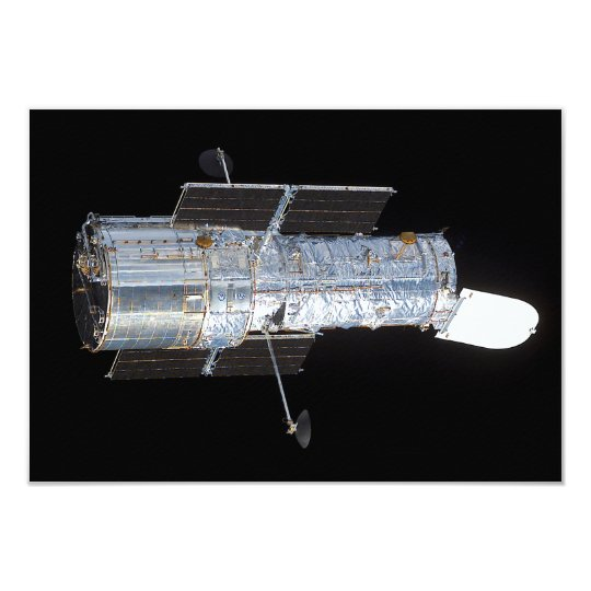 The Hubble Space Telescope (HST) Card