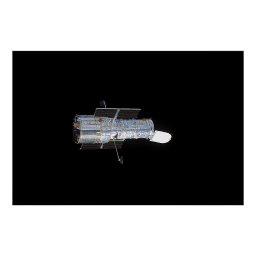 The Hubble Space Telescope (HST) Poster