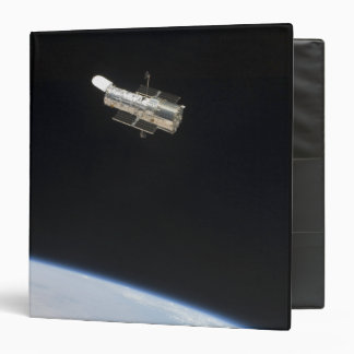 The Hubble Space Telescope in orbit above Earth 2 3 Ring Binder