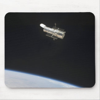 The Hubble Space Telescope in orbit above Earth 2 Mouse Pad