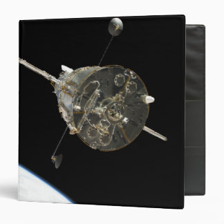 The Hubble Space Telescope in orbit above Earth Binder