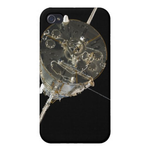 The Hubble Space Telescope in orbit above Earth iPhone 4 Covers