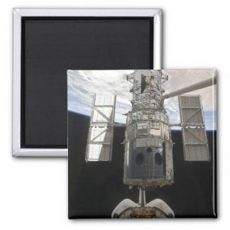 The Hubble Space Telescope is released 2 Inch Square Magnet