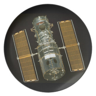The Hubble Space Telescope Melamine Plate