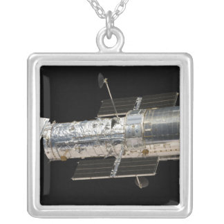 The Hubble Space Telescope Silver Plated Necklace