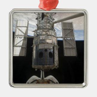 The Hubble Space Telescope Space Shuttle Atlant Metal Ornament