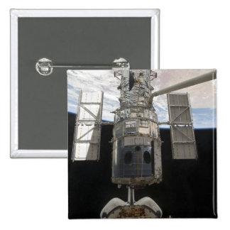 The Hubble Space Telescope Space Shuttle Atlant Pinback Button