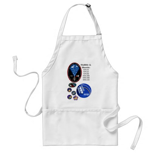 The Hubble Telescope and the Shuttle Aprons