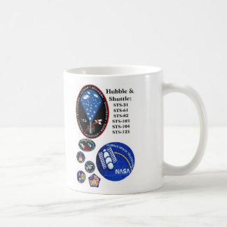 The Hubble Telescope and the Shuttle Coffee Mug