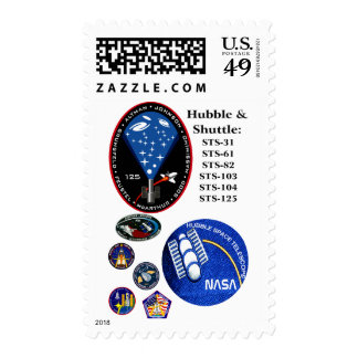 The Hubble Telescope and the Shuttle Postage