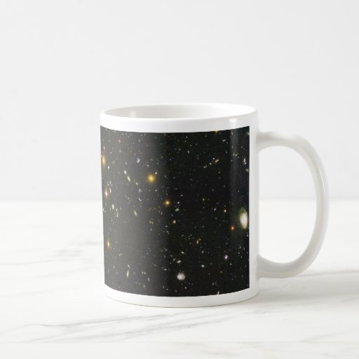 The Hubble Ultra Deep Field Classic White Coffee Mug