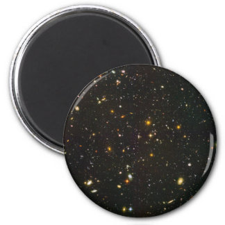 The Hubble Ultra Deep Field 2 Inch Round Magnet