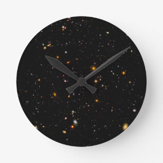 The Hubble Ultra-Deep Field Round Clock