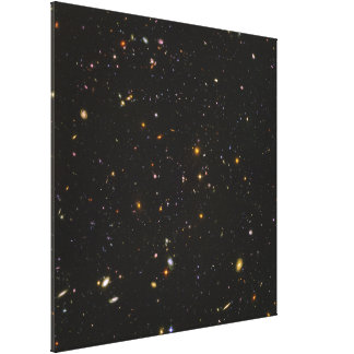 The Hubble Ultra Deep Field Space Image Stretched Canvas Prints