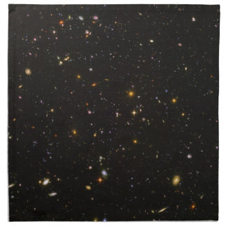 The Hubble Ultra Deep Field Space Image Napkin
