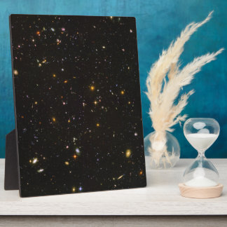 The Hubble Ultra Deep Field Space Image Plaque