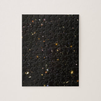 The Hubble Ultra Deep Field Space Image Puzzle