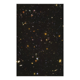 The Hubble Ultra Deep Field Space Image Stationery